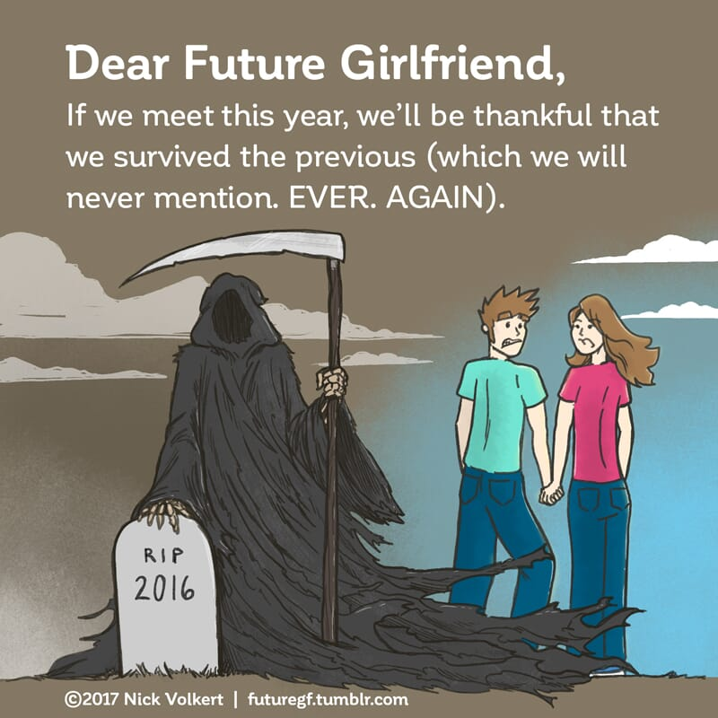 A couple passed the grim reaper