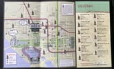 Full rendered map of Washington D.C. locations of Potbelly sandwich stores.